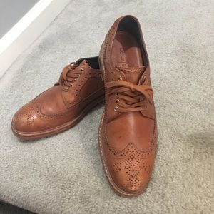 Cole haan men's wingtip Oxford shoes size 7